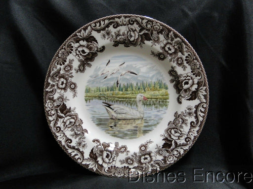 "Spode Woodland Snow Goose, England: NEW Dinner Plate (s), 10 3/4"", Box"