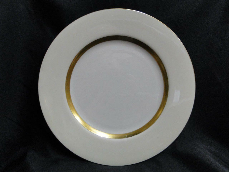 Haviland (New York) Gotham Ivory with Gold Trim: Dinner Plate (s) 10 5/8""