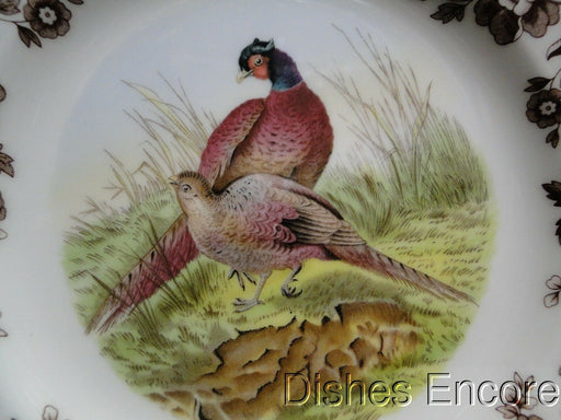 "Spode Woodland Pheasant Game Bird, England: NEW Salad Plate (s), 7 3/4"", Box"