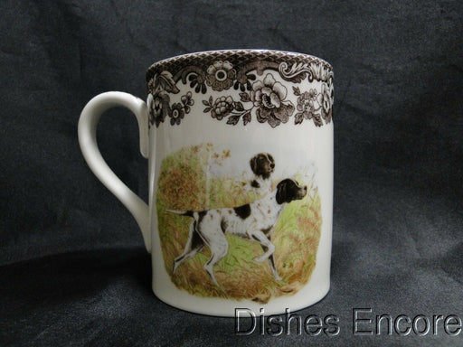 "Spode Woodland Flat Coat Pointer Hunting Dog: NEW Mug (s), 4 1/4"" Tall, 16 oz"