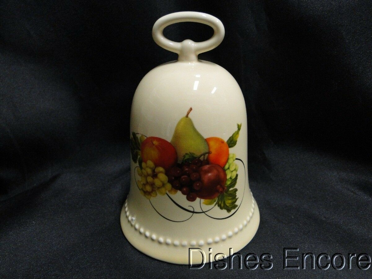 "Hallmark Christmas Bell with Fruit, ""Ode to Joy"" Music Box, 5 1/2"""