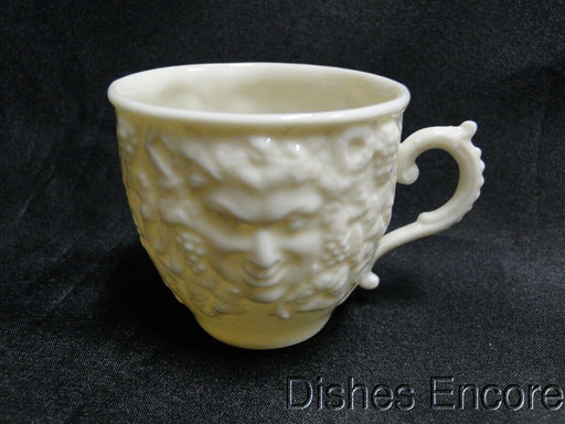 Belleek, Ireland Giftware, Mask: Demitasse Flat Cup Only 2 1/8""