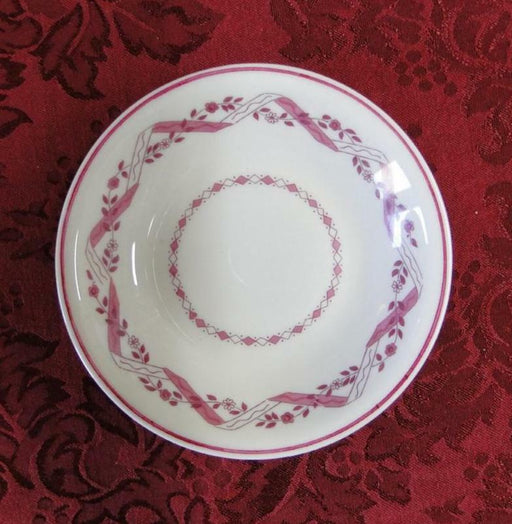 Haviland (New York) Holmsford Cranberry: Fruit Bowl (s)