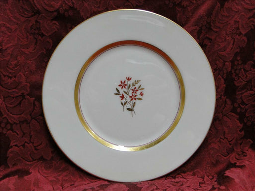 Lenox Nydia, rust flowers: Dinner Plate (s) 10 1/2""