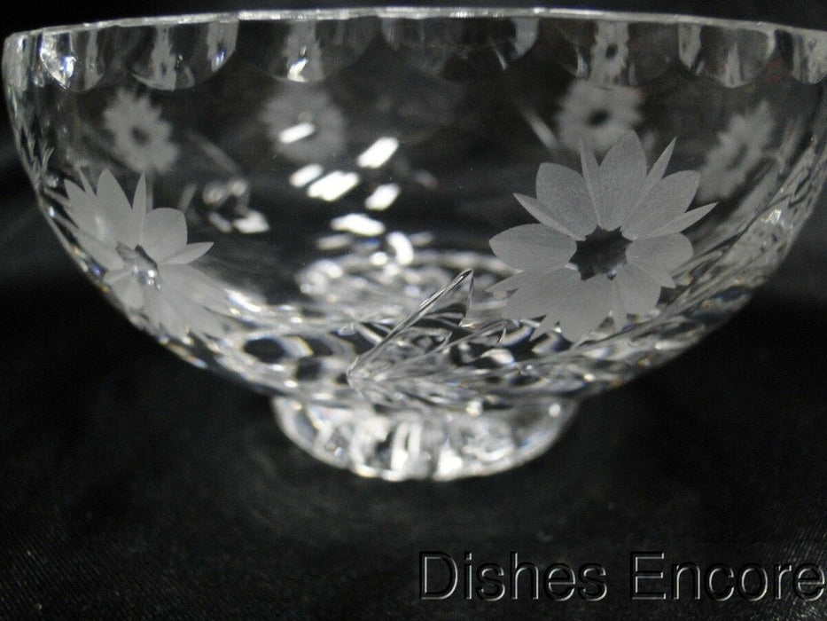Edinburgh Crystal Argyll, Cut Flowers: Open Sugar Bowl 2 1/4""