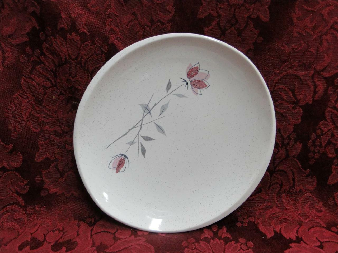 Franciscan Duet, Pink Flowers: Bread Plate (s) 6 1/2""
