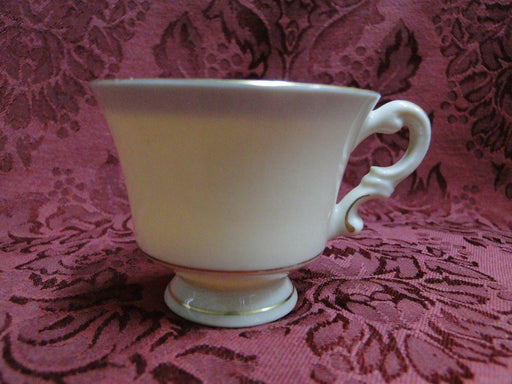 "Syracuse Wayne Plain, Gold Encrusted Band: Demitasse Cup (s), 2 1/8"", No Saucer"
