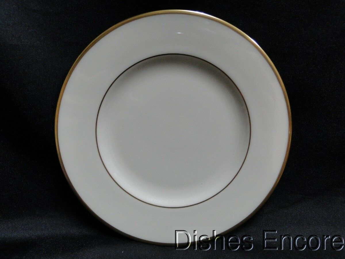 Lenox Mansfield, Ivory with Gold Trim: Bread Plate (s) 6 1/4""