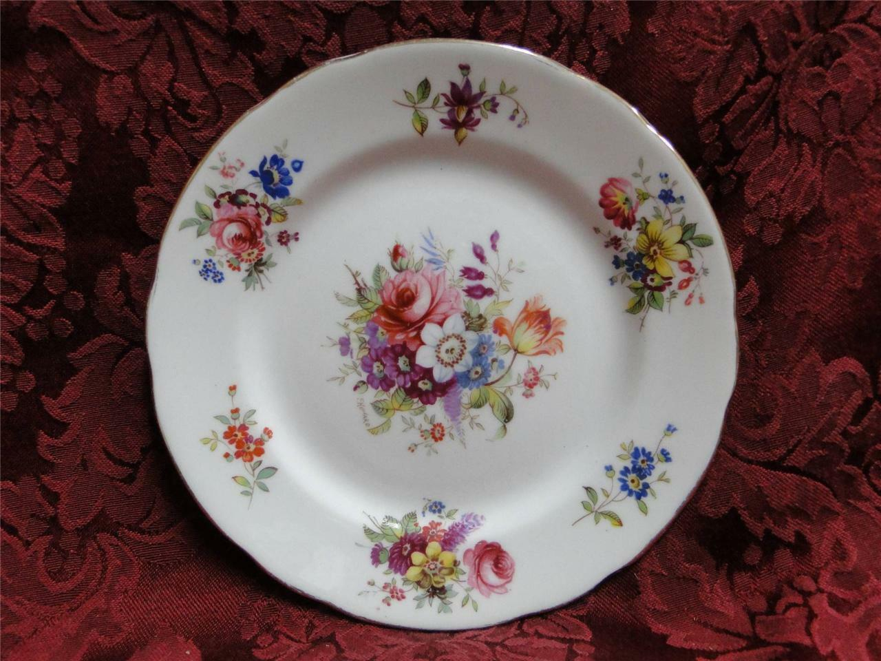 Hammersley Howard Sprays #3031 Various Florals: Bread and Butter Plate (s)