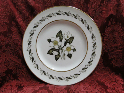 Royal Worcester Bernina, White & Yellow Flowers: Dinner Plate (s), 10 1/2""