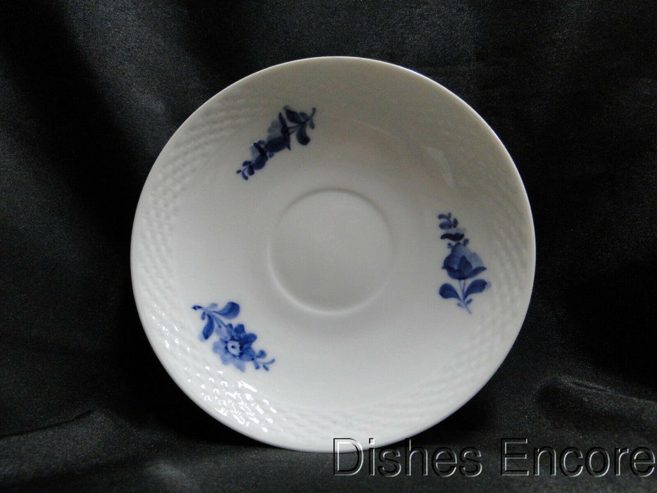 "Royal Copenhagen Blue Flowers Braided: 5 5/8"" Saucer Only, No Cup, As Is"
