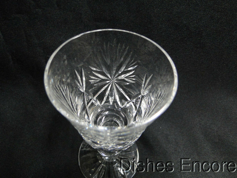 Edinburgh Crystal Star of Edinburgh, Cut Stars, Cut Foot: Port Wine (s) 4 5/8""