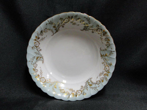 Royal Tettau Duchess Blue Green, Gold Flowers & Trim: Fruit Bowl (s), 5 5/8""