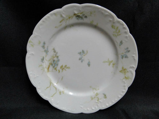 Haviland Limoges, Schleiger 245 Blue Flowers: Bread Plate (s) 6 1/8""
