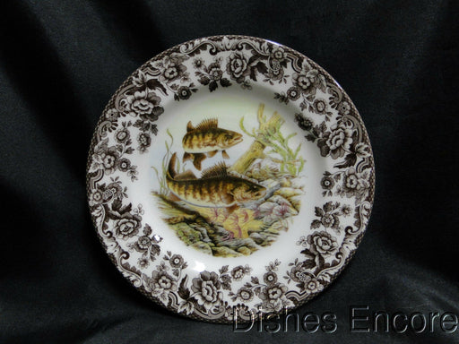 "Spode Woodland North American Fish Walleye, England: NEW Salad Plate 7 3/4"", Box"