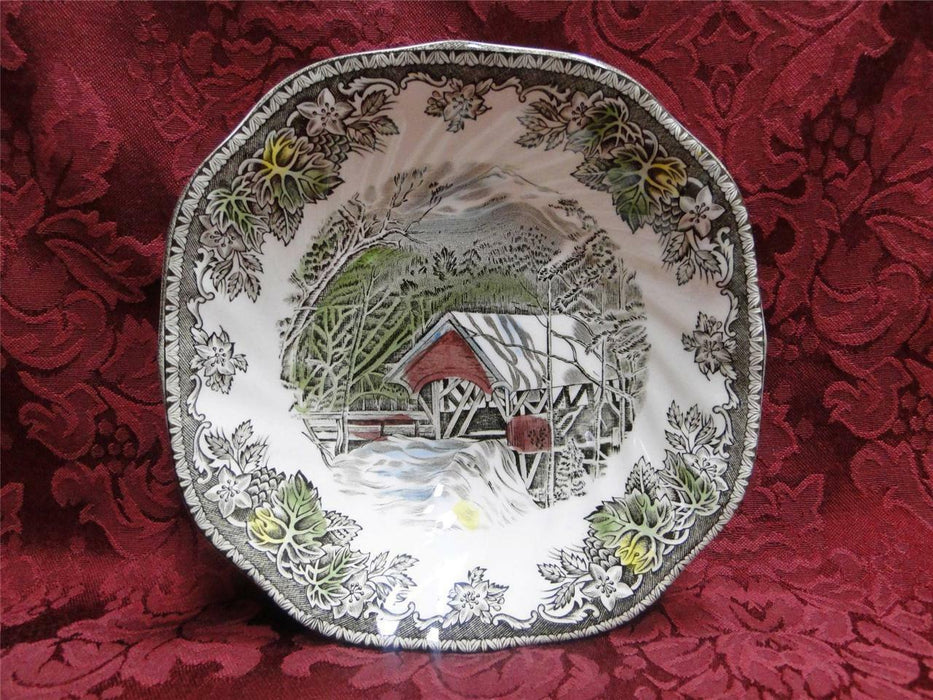 Johnson Brothers Friendly Village, England: Square Cereal Bowl (s) 6 1/4""