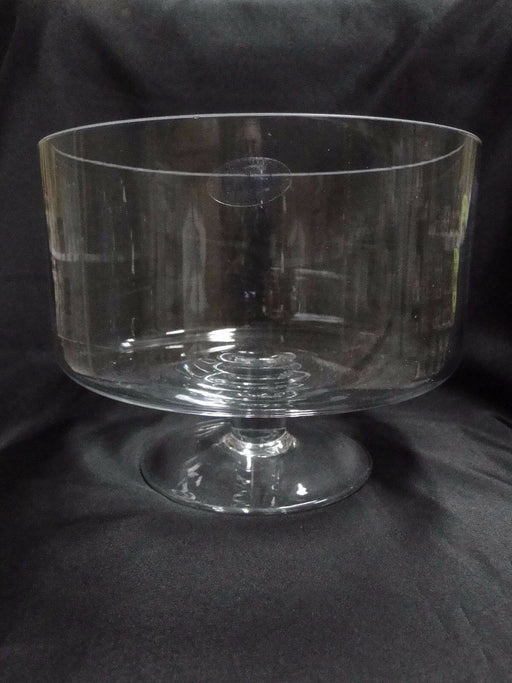"Badash Crystal Lexington Glass Trifle Dessert or Salad Bowl 9.5"" NEW W/ Box"