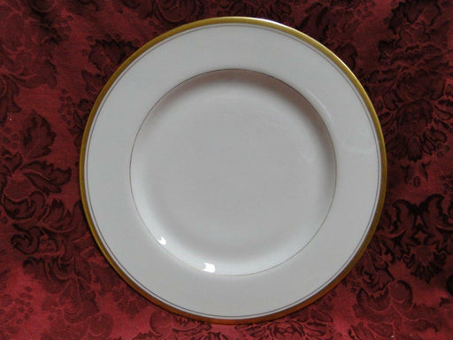 Haviland (New York) Oxford, Cream with Gold Trim and Verge:Dinner Plate (s)10 1/4