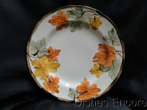 Franciscan (USA) October, Fall Leaves:Dinner Plate (s) AS IS Small Chips 10 3/4""