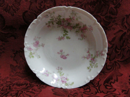 Haviland, Limoges Schleiger 29, Blank 1, Pink Flowers: Fruit Bowl AS IS 5 1/4""