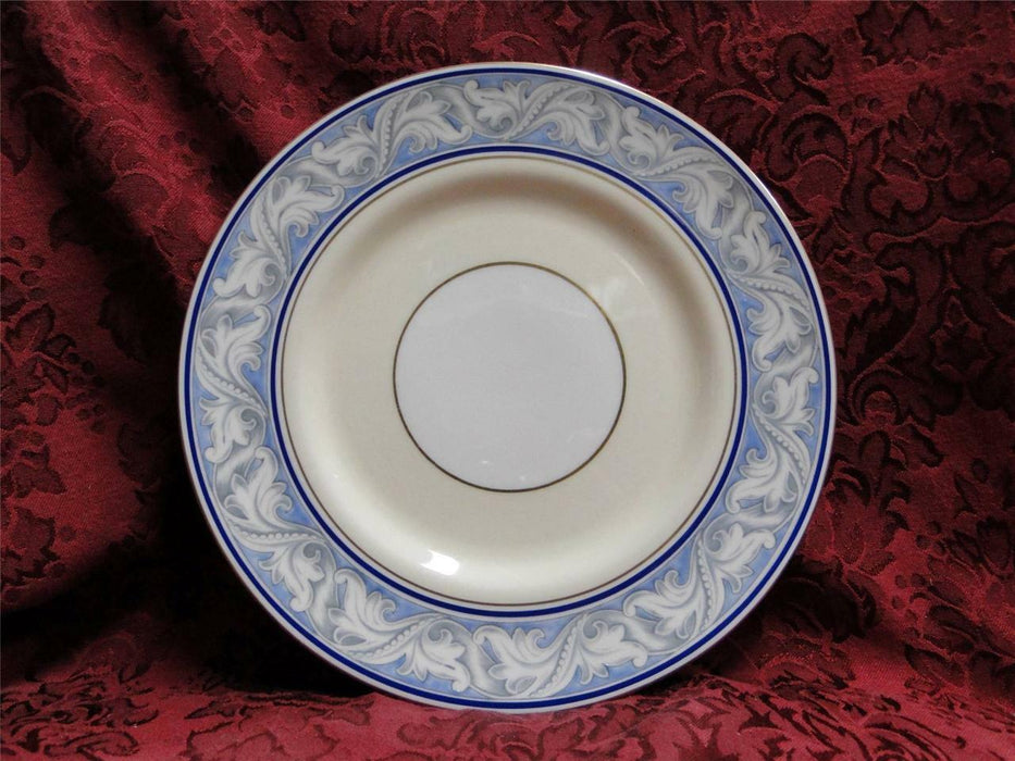 Royal Doulton The Tewkesbury, Scrolls on Blue Rim: Luncheon Plate (s), 8 7/8""