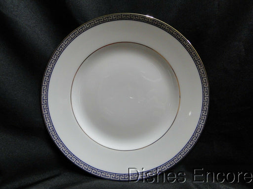 Wedgwood Palatia, White w/ Blue & Gold Greek Key: Salad Plate (s), 8 1/8""