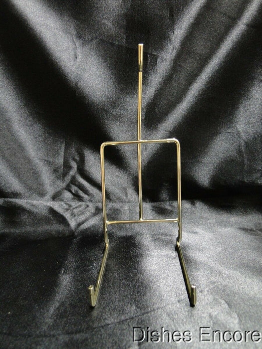 Tripar Smooth Brass Wire Table Top Holder (s) for a Single Cup & Saucer, 6 3/8""