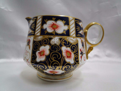 "Royal Crown Derby Traditional Imari: Creamer / Cream Pitcher 3 1/8"" Tall, As Is"