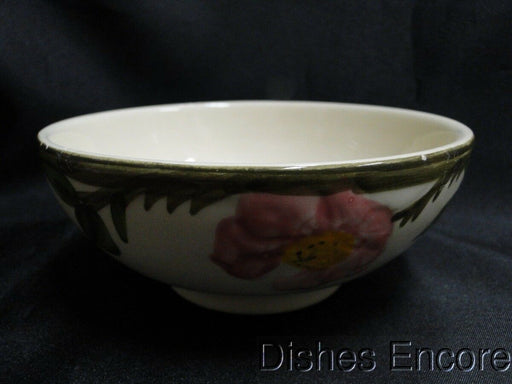 Franciscan Desert Rose, USA: Oatmeal Bowl, Straight Footed AS IS, 5 5/8""