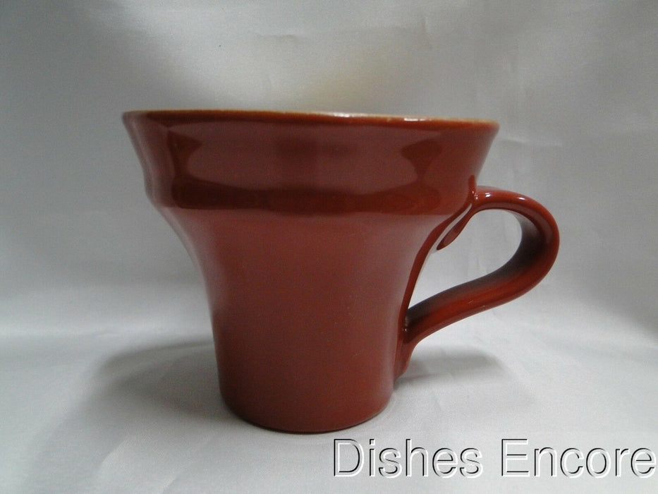 "Vietri Paprika (Italy), Red & Yellow Pottery: Mug (s), 3 7/8"" Tall -- As Is"