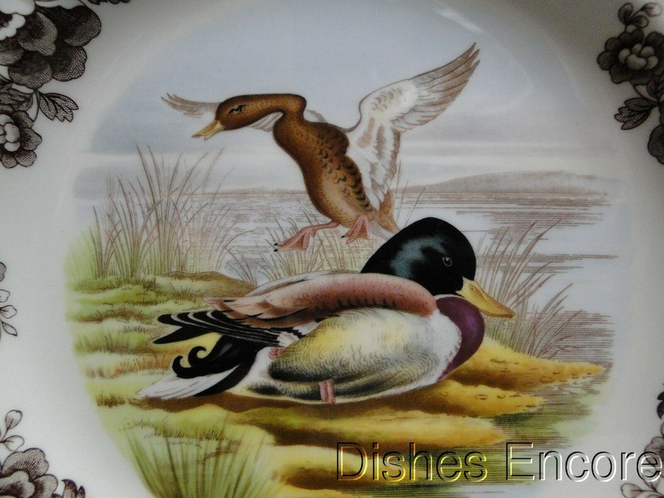 "Spode Woodland Mallard Duck, England: NEW Dinner Plate (s), 10 3/4"", Box"