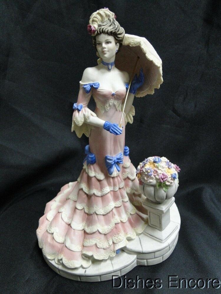 Coalport Figurine, Porcelain, Les Parisiennes: Mademoiselle Cherie AS IS 10 5/8""