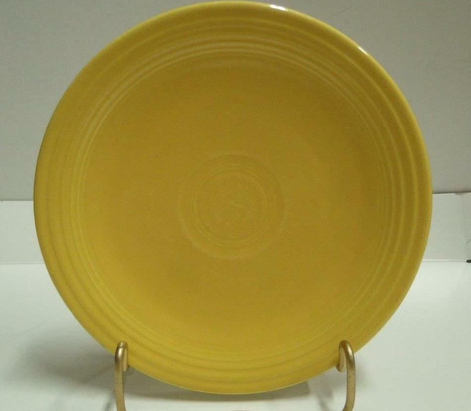 Homer Laughlin Fiesta (Old): Yellow Bread Plate (s) 6 3/4""