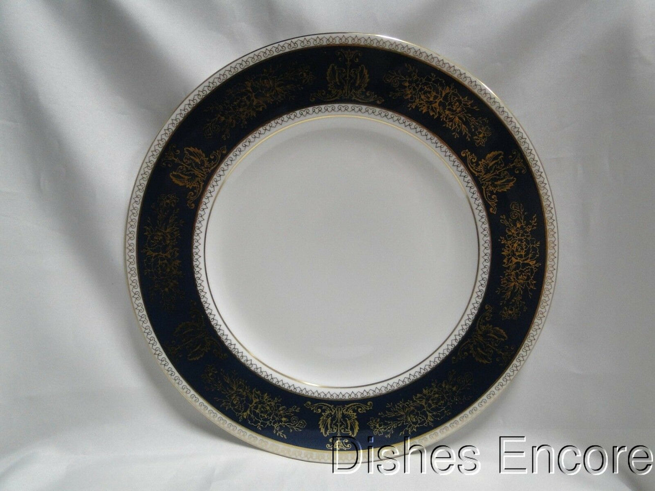 Wedgwood Columbia Blue & Gold, Dragons, Flowers: Dinner Plate (s), 10 3/4""