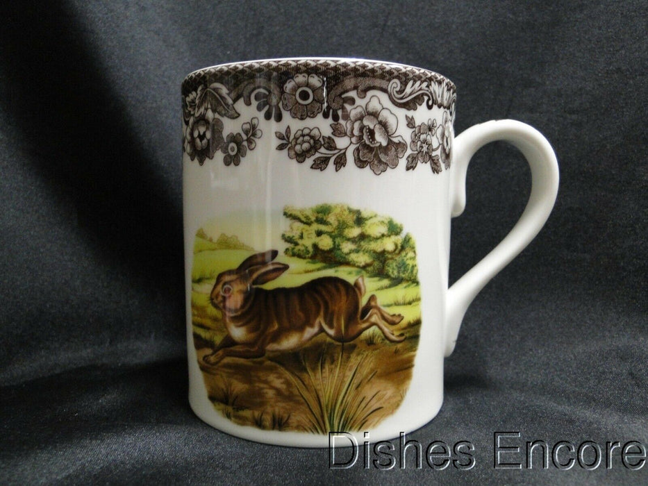"Spode Woodland Rabbit, Bunny: NEW Mug (s), 4 1/4"" Tall, 16 oz"