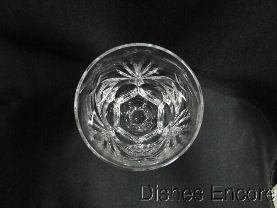 "Waterford Crystal Ashling Cut Fans & Panels Water or Wine Goblet 7"" Tall, Flaw"