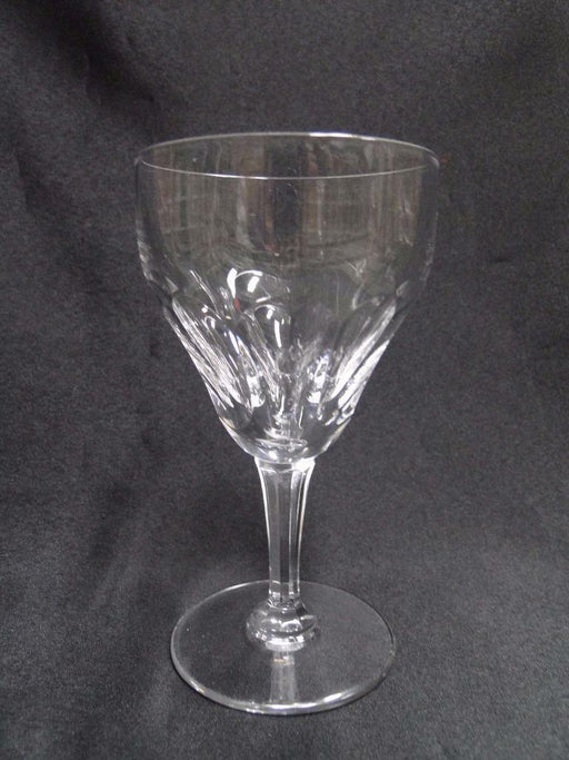 "Val St. Lambert Riviera, 9 Cut Thumbprints: Port Wine (s), 5 3/8"" Tall"