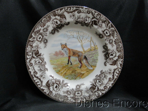 "Spode Woodland Red Fox, England: NEW Dinner Plate (s), 10 3/4"", Box"