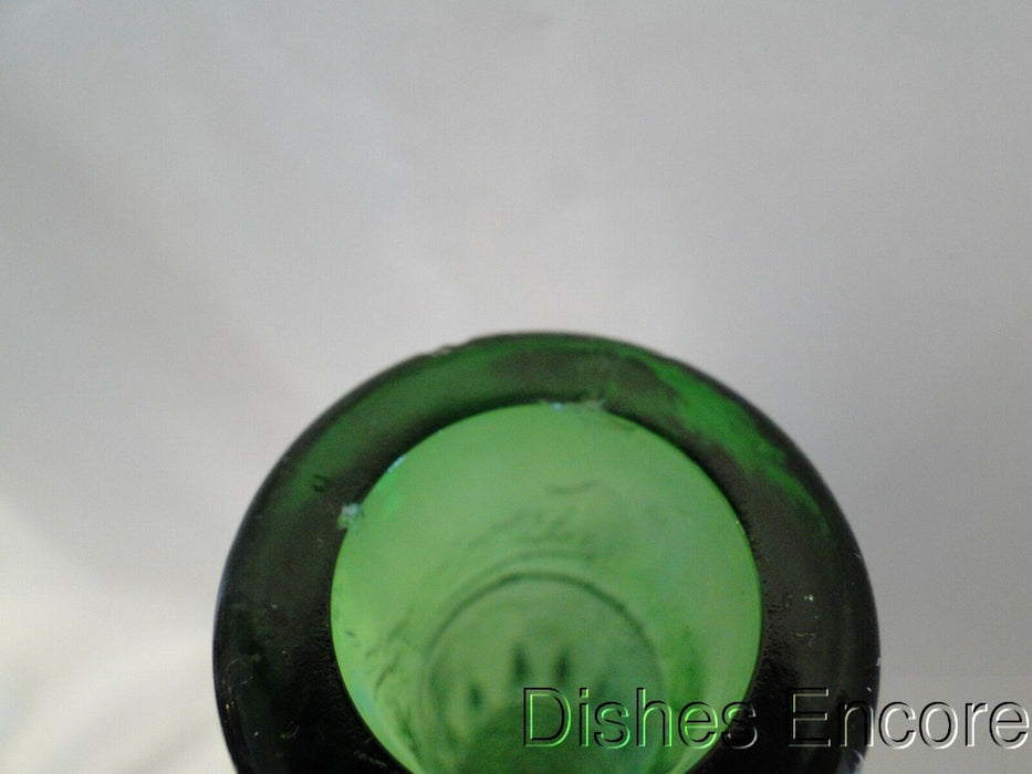 "Green Hobnail Bottle, No Trim, 16"" Tall, As Is -- MG#162"