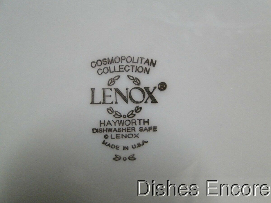 Lenox Hayworth, Ivory w/ Gold Verge & Trim: Salad Plate (s) 8 1/8""