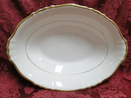 Syracuse Brantley, Wide Gold Trim: Oval Vegetable / Serving Bowl, 10.5""