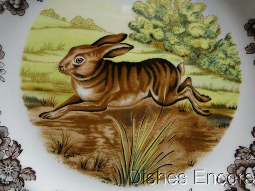 "Spode Woodland Rabbit, Bunny, England: NEW Dinner Plate (s) 10 3/4"", Box"