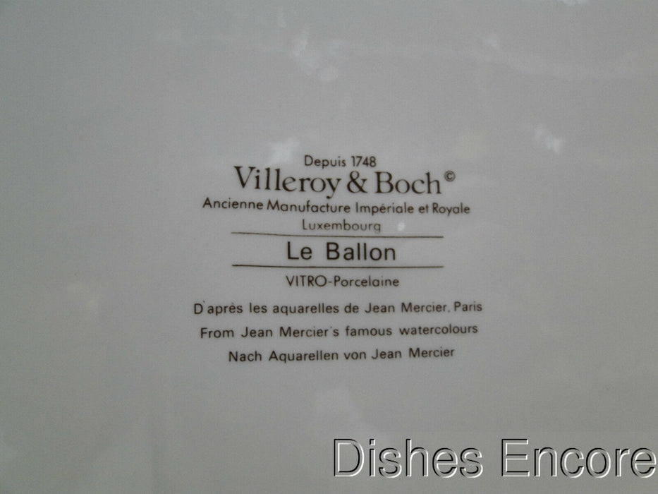 Villeroy & Boch Le Ballon, Multicolored Balloons: Cologne Dinner Plate, 10 1/4""