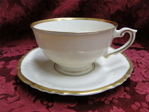 Syracuse Brantley, Wide Gold Trim: Cup & Saucer Set (s)
