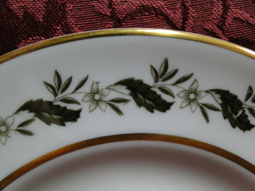 Royal Worcester Bernina, White & Yellow Flowers: Bread Plate (s), 6 1/8""