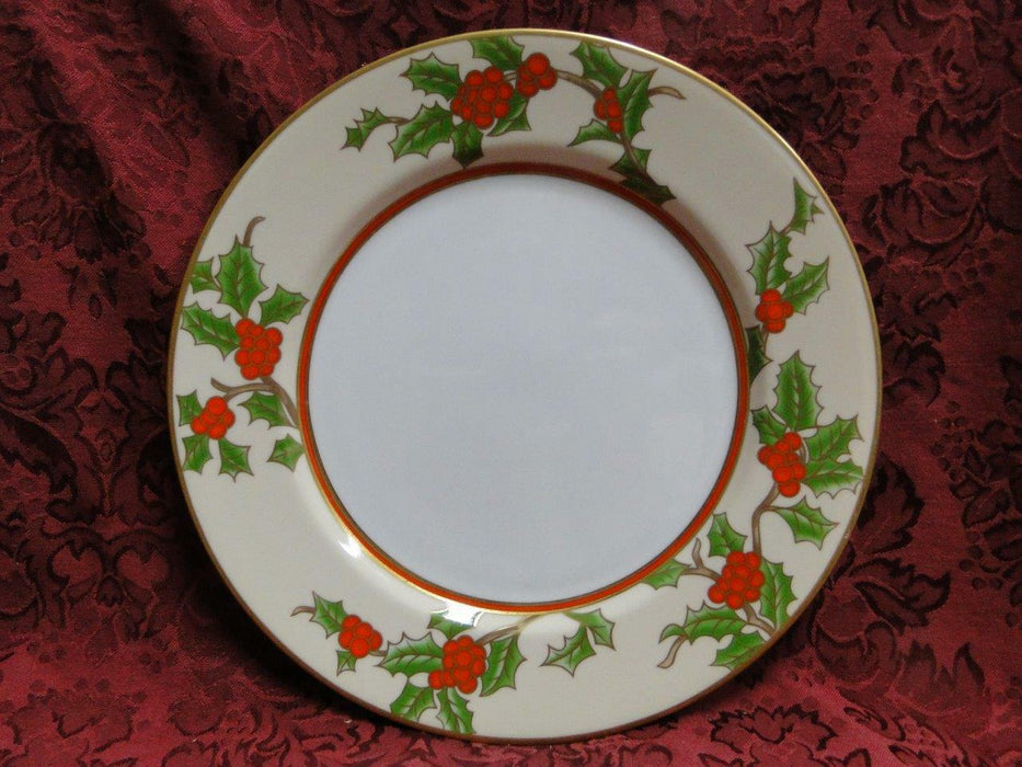 Fitz & Floyd Christmas Holly: Dinner Plate (s) 10 1/4""