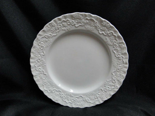 Ralph Lauren Claire, White w/ Ribbons: Salad Plate (s), 8 1/8""