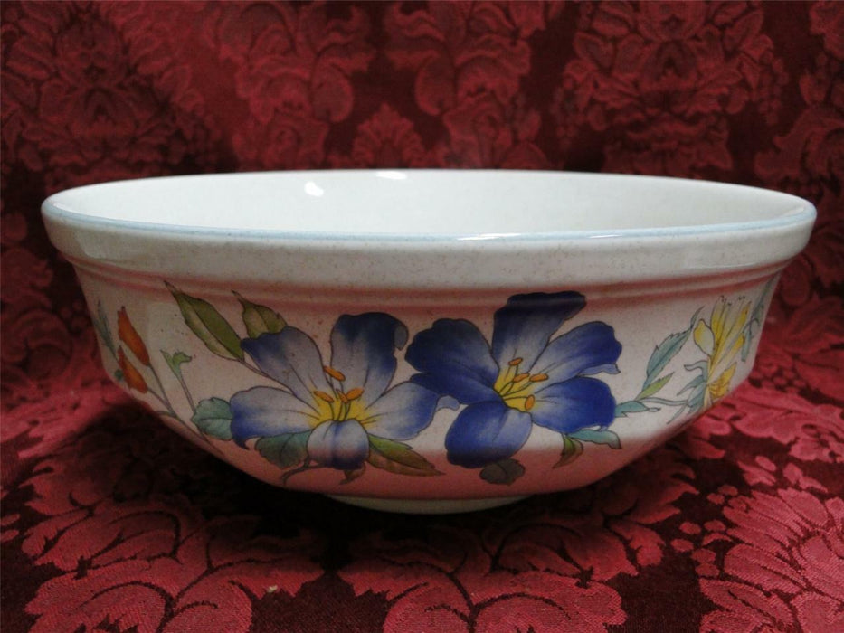 Mikasa Rose Hips, Pastel Floral: Round Vegetable Serving Bowl 8 1/2""