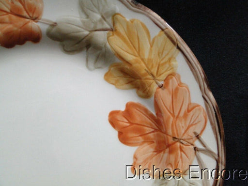 Franciscan (USA) October, Fall Leaves: Luncheon Plate AS IS Small Chip, 9 3/4""