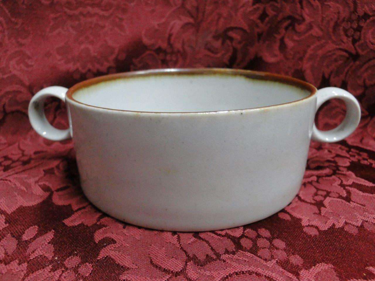 Dansk Brown Mist, Blue Backstamp: Sugar Bowl Only (No Lid) 1 7/8""